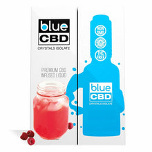 Load image into Gallery viewer, Blue CBD - Tincture Crystal Isolate Oil Raspberry Lemonade Flavor 30ml