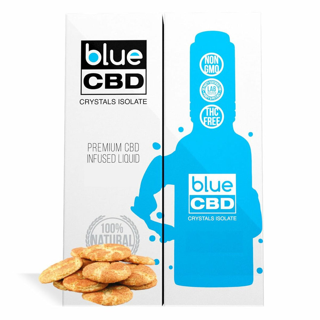 Blue CBD - Tincture Crystal Isolate Oil Snickerdoodle Flavor 30ml