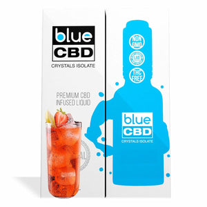 Blue CBD - Tincture Crystal Isolate Oil Strawberry Lemonade Flavor 30ml