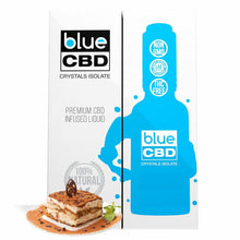 Load image into Gallery viewer, Blue CBD - Tincture Crystal Isolate Oil Tiramisu Flavor 30ml
