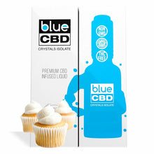 Load image into Gallery viewer, Blue CBD - Tincture Crystal Isolate Oil Vanilla Cupcake Flavor 30ml