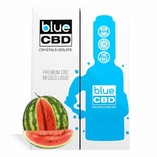 Load image into Gallery viewer, Blue CBD - Tinctures Crystal Isolate Oil Watermelon Flavor 30ml