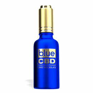 Blue CBD - Tinctures Crystal Isolate Oil Watermelon Flavor 30ml