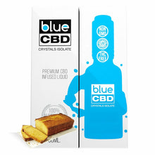 Load image into Gallery viewer, Blue CBD - Tincture Crystal Isolate Oil Yellow Cake Flavor 30ml
