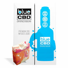 Load image into Gallery viewer, Blue CBD - Tincture Crystal Isolate Oil Orange Berry Cream Flavor 30ml