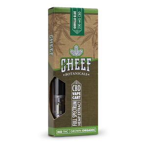 Cheef Botanicals - CBD Cartridges Gorilla Glue – 200mg/400mg