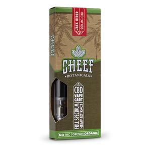 Cheef Botanicals - CBD Cartridges Jack Herer – 200mg/400mg
