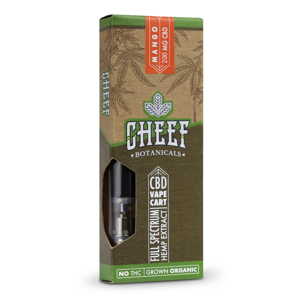 Cheef Botanicals - CBD Cartridges Mango – 200mg