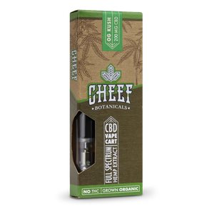 Cheef Botanicals - CBD Cartridges OG Kush – 200mg