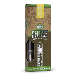 Cheef Botanicals - CBD Cartridges Pineapple Express – 200mg