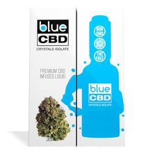 Load image into Gallery viewer, Blue CBD - Terpenes Crystal Isolate Oil Yoda OG Flavor 30ml