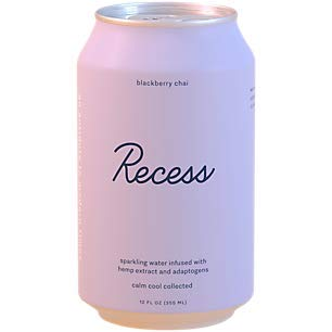 Recess - Hemp Extract Drink Blackberry Chai 12oz.