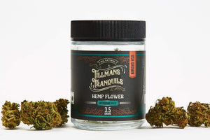 Tillmans Tranquils CBD - Hemp Flower Micropine Haze 3.5 Grams