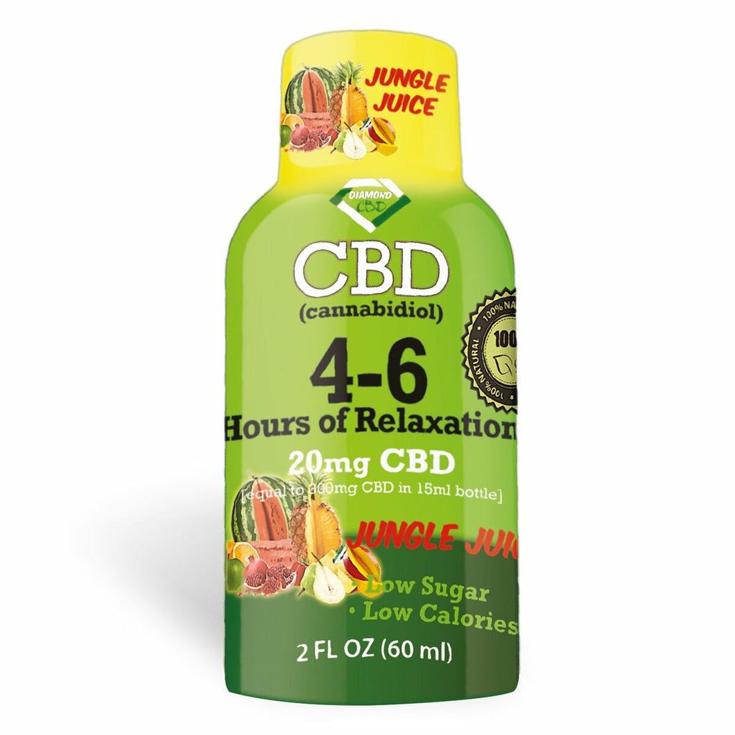 Diamond CBD - Drink Edible Shot Jungle Juice 20mg (60ml)
