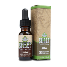 Load image into Gallery viewer, Cheef Botanicals - CBD Drops Hemp Oil 300mg