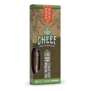 Cheef Botanicals - CBD Cartridges Mango – 400mg
