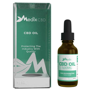 Medix CBD - Oil Tincture Natural Flavor 500mg