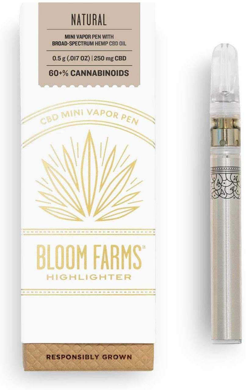 Bloom Farms - CBD Pen Mini Natural 0.5 G