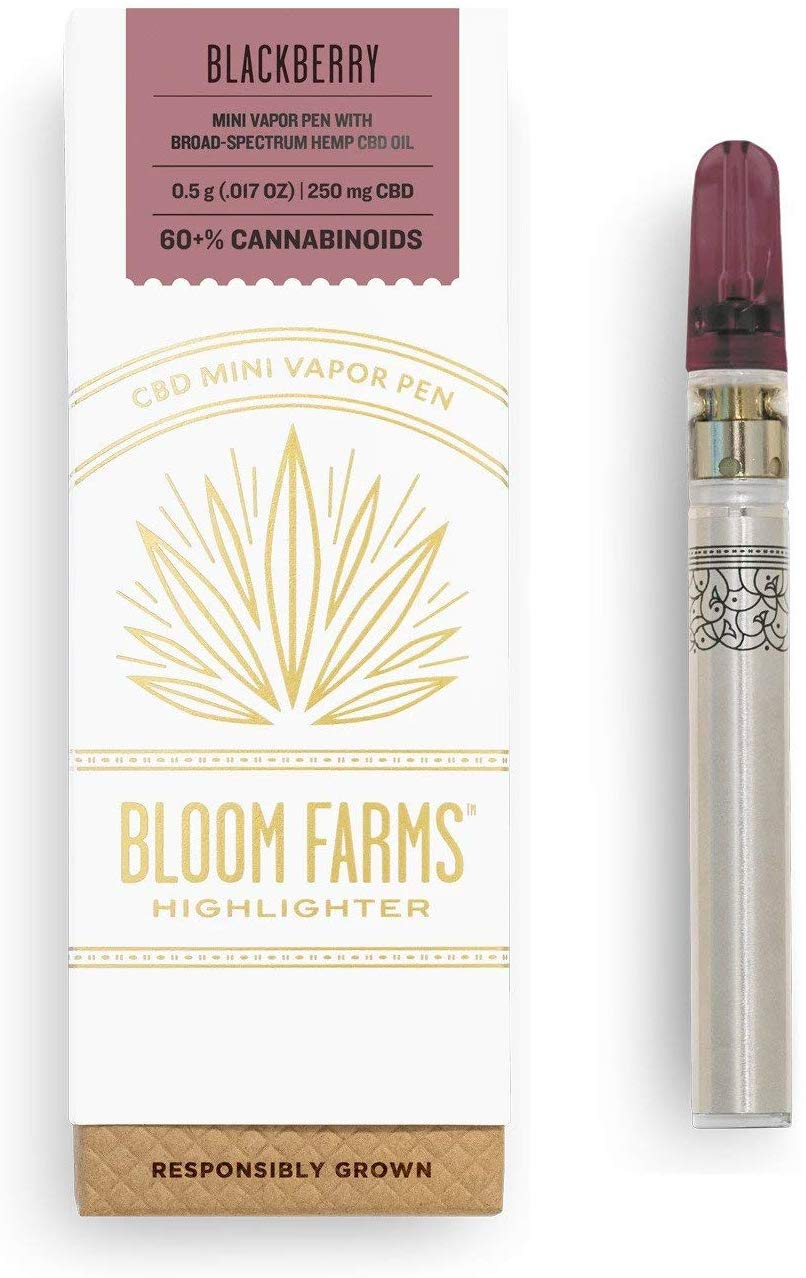 Bloom Farms - CBD Pen Mini Blackberry 0.5 G