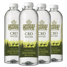 Load image into Gallery viewer, Cheef Botanicals - CBD Water Edible Full Spectrum 6 Pack
