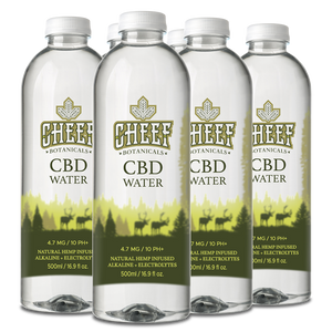 Cheef Botanicals - CBD Water Edible Full Spectrum 6 Pack
