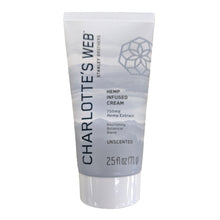 Load image into Gallery viewer, Charlotte's Web - CBD Topical Cream Unscented 2.5oz.