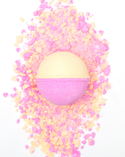 Load image into Gallery viewer, CBD For Life - Bath Bomb Pink Salt & Citrus