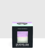 Load image into Gallery viewer, CBD For Life - Bath Bomb Fresh Bamboo