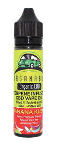 Organabus CBD - E-Liquid Banana Kush Terpene Infused Oil 450mg