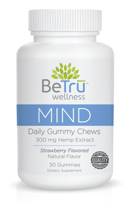 BeTru Wellness - CBD Gummy Daily Chews 300mg Hemp Extract