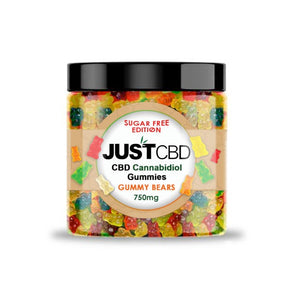 JUST CBD - Gummies Sugar Free Gummy Bears 750mg