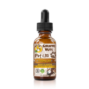 Giraffe Nuts - CBD Pet Oil Tinctures Beef Flavor 30ml