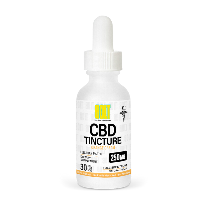 BOLT CBD - Tincture Orange Cream 30ml