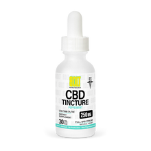 Load image into Gallery viewer, BOLT CBD - Tincture Peppermint 250mg 30ml