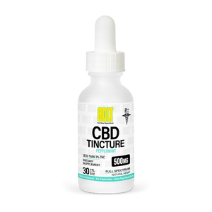 BOLT CBD - Tincture Peppermint 500mg 30ml
