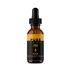 Pure Kana - CBD Oil Citrus 300mg