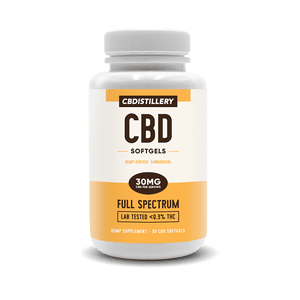 CBDistillery - CBD Capsule Full Spectrum Softgels 30ct