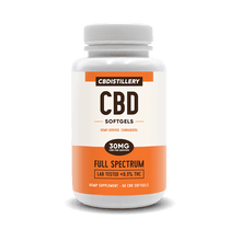 Load image into Gallery viewer, CBDistillery - CBD Capsule Softgels 60ct