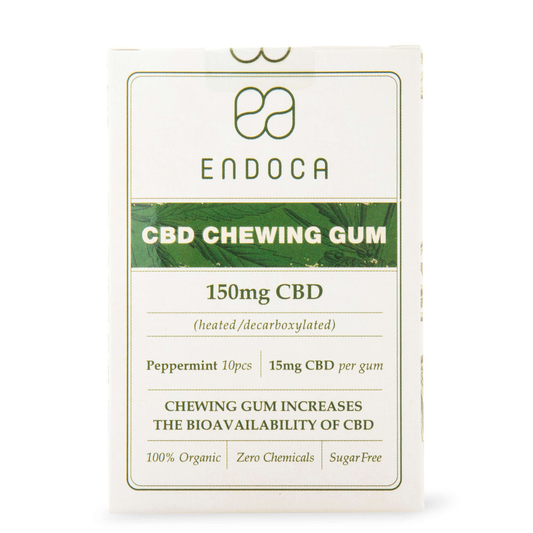 Endoca CBD - Edible Chewing Gum 150mg