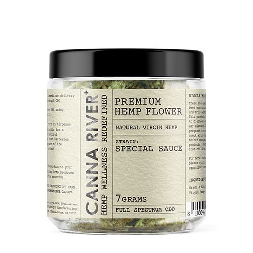 Canna River - Hemp Flower Special Sauce 7gms