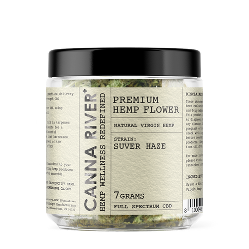 Canna River - Hemp Flower Suver Haze 7gms