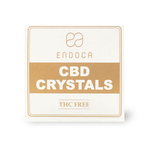 Endoca CBD - Cannabis Crystal Pure 99% 500mg