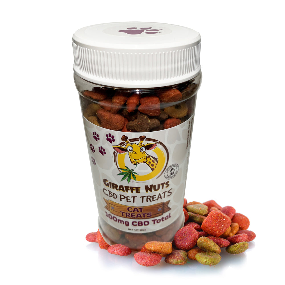 Giraffe Nuts - CBD Pet Cat Treats 100mg