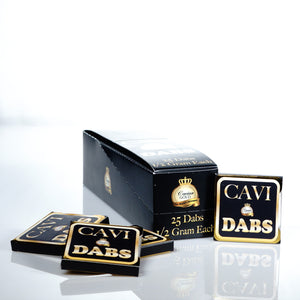 Caviar Gold - CBD Isolate Cavi Concentrate 0.5g Single Serving