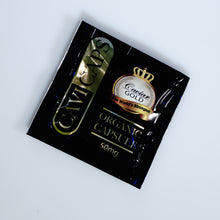 Load image into Gallery viewer, Caviar Gold - CBD Capsules Organic Cavi Caps 50mg Single Serving