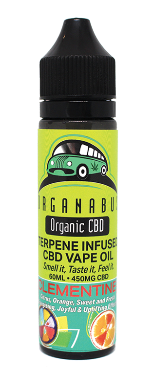 Organabus CBD - E-Liquid Clementine Terpene Infused Oil 450mg