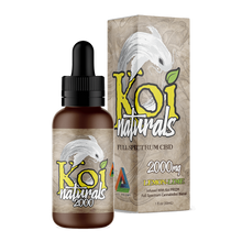 Load image into Gallery viewer, Koi CBD - Tincture Naturals Hemp Extract Lemon-Lime Flavor 30ml