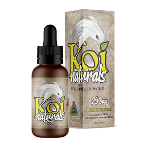 Koi CBD - Tincture Naturals Hemp Extract Lemon-Lime Flavor 30ml
