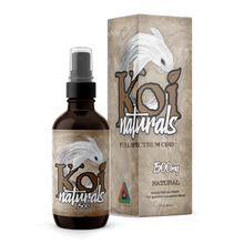 Load image into Gallery viewer, Koi CBD - Spray Naturals Hemp Extract Natural Flavor 60ml
