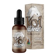 Load image into Gallery viewer, Koi CBD - Tincture Naturals Hemp Extract Natural Flavor 30ml